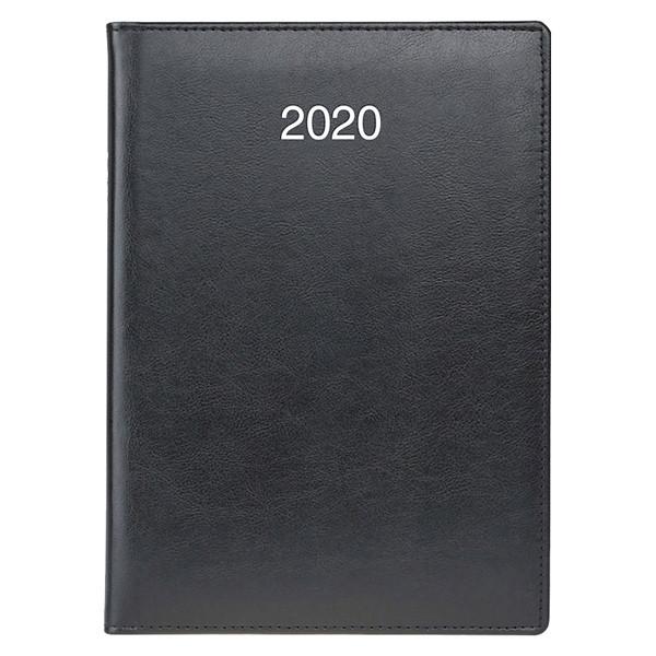 Ежедневник датированный BRUNNEN 2020 Стандарт Soft, черный