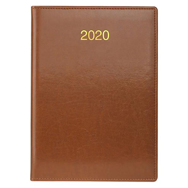 Ежедневник датированный BRUNNEN 2020 Стандарт Soft, коричневый