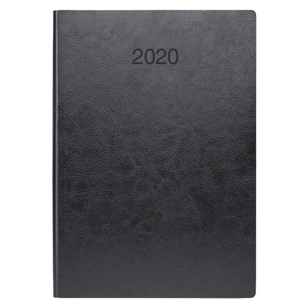 Ежедневник датированный BRUNNEN 2020 Стандарт Flex, черный