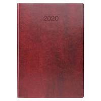 Ежедневник датированный BRUNNEN 2020 Стандарт Flex, бордовый, фото 1