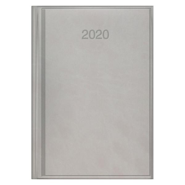 Ежедневник датированный BRUNNEN 2020 Стандарт Torino, серый