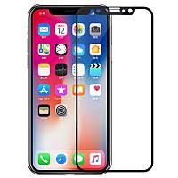 Защитное цветное стекло Mocoson 5D (full glue) для Apple iPhone X / XS / 11 Pro
