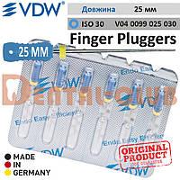 Фінгер Плагер ВДВ (Финджер Плуджер) Finger Plugger VDW для вертикальної конденсації гутаперчі L25 мм ISO №30