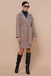 Жіноче осіннє пальто з вовни