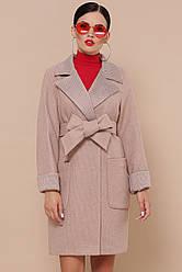Жіноче осіннє пальто ділового стилю