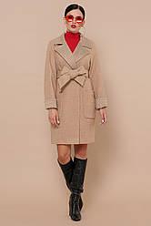 Вовняне осіннє пальто жіноче