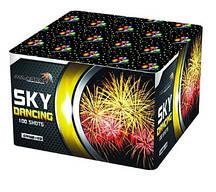 +Видео! Салют фейерверк SKY DANCING Небесный танец GWM6103 (100 выстрелов, калибр 30 мм)