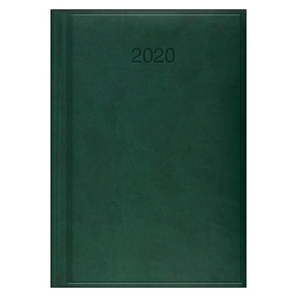 Ежедневник датированный BRUNNEN 2020 Стандарт Torino, зеленый