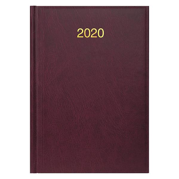 Ежедневник датированный BRUNNEN 2020 Стандарт Miradur, бордовый