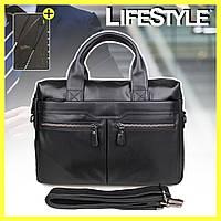 Мужская сумка из натуральной кожи Westal A4