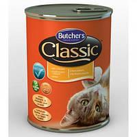 Butchers Cat Classic Консервы Для Кошек Курица 400 Г
