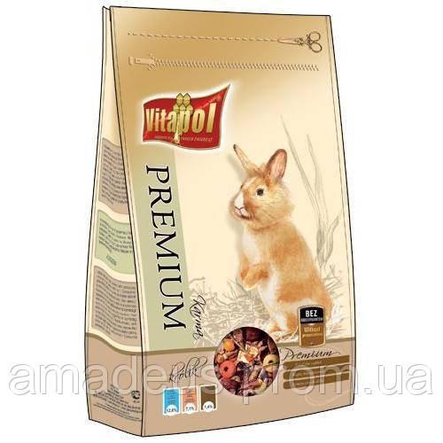Vitapol Premium Корм Для Кроликов, 900 Г