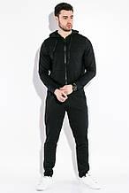 Костюм спортивный мужской с капюшоном  AG-0009980 Черный