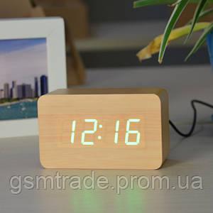 Электронные настольные часы VST 863-5 Коричневый