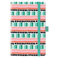 Еженедельник недатированный BRUNNEN Смарт Графо Mint & Pink BBH