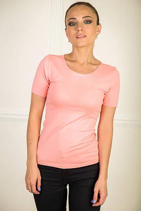 Футболка женская розовая, фото 2