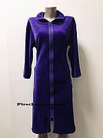 Женский велюровый халат( с 50 по 64 размер), фото 1