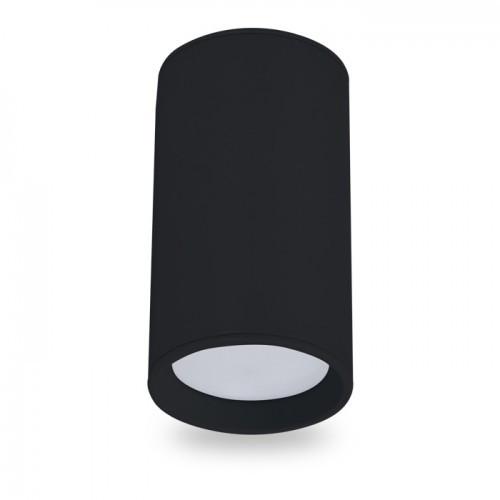 Накладной светильник цилиндр Feron ML301 под лампу MR16 GU10 черный 56*100мм