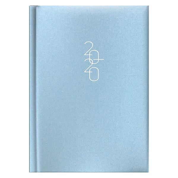 Ежедневник карманный датированный BRUNNEN 2020 Glam голубой