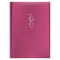 Ежедневник карманный датированный BRUNNEN 2020 Glam розовый, фото 1