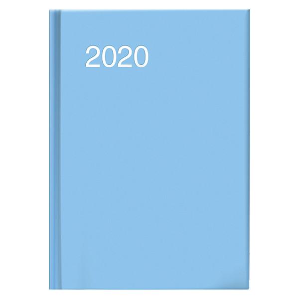 Ежедневник карманный датированный BRUNNEN 2020 Miradur trend голубой