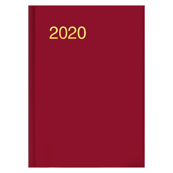 Ежедневник карманный датированный BRUNNEN 2020 Miradur trend красный