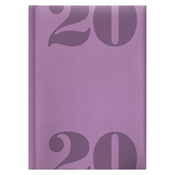 Ежедневник карманный датированный BRUNNEN 2020 Torino Trend лавандовый