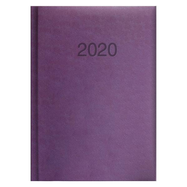 Ежедневник карманный датированный BRUNNEN 2020 Torino сиреневый