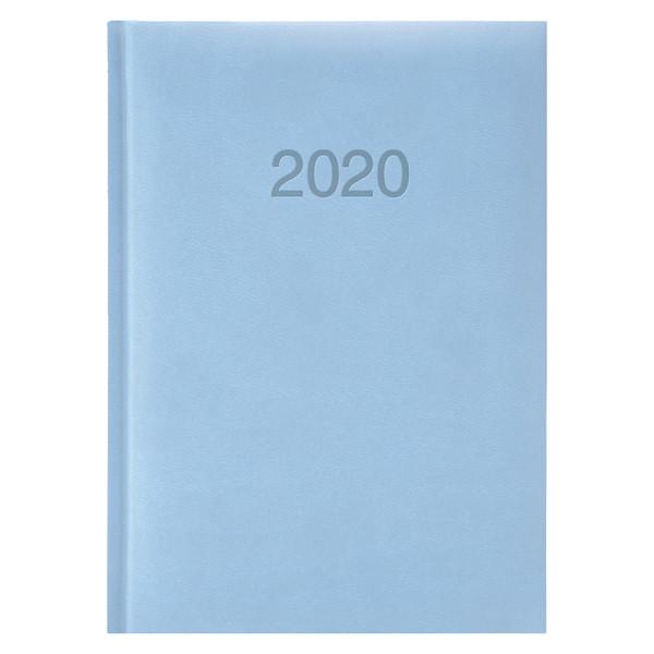 Ежедневник карманный датированный BRUNNEN 2020 Torino, голубой