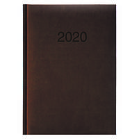 Ежедневник карманный датированный BRUNNEN 2020 Torino, коричневый, фото 1