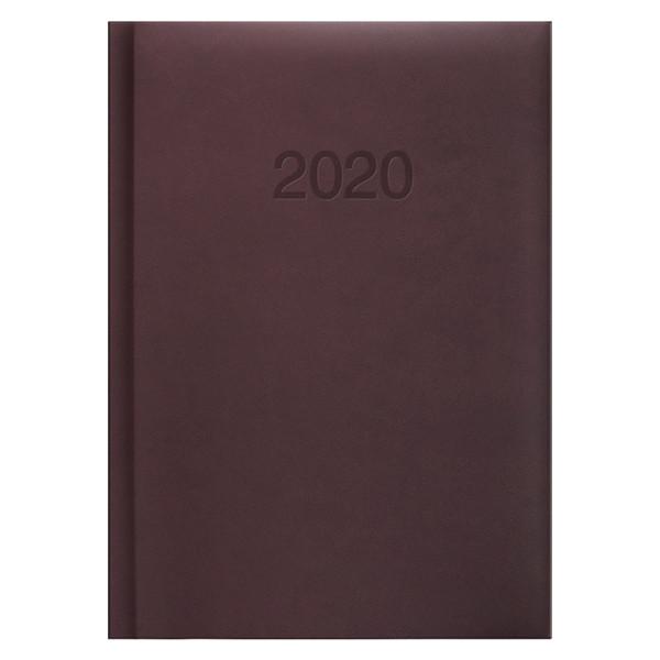Ежедневник карманный датированный BRUNNEN 2020 Torino, марсала