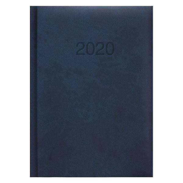 Ежедневник карманный датированный BRUNNEN 2020 Torino, синий