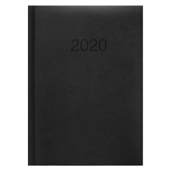 Ежедневник карманный датированный BRUNNEN 2020 Torino, черный