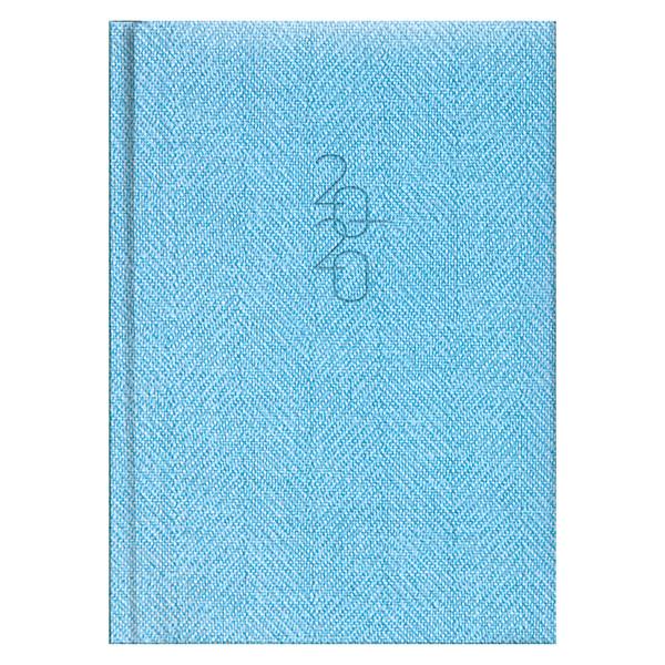 Ежедневник карманный датированный BRUNNEN 2020 Tweed голубой