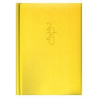 Ежедневник карманный датированный BRUNNEN 2020 Tweed желтый, фото 1