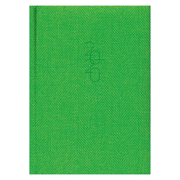 Ежедневник карманный датированный BRUNNEN 2020 Tweed светло-зеленый