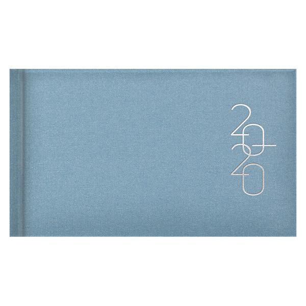 Еженедельник карманный датированный BRUNNEN 2020 Glam голубой