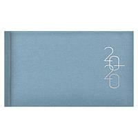 Еженедельник карманный датированный BRUNNEN 2020 Glam голубой, фото 1