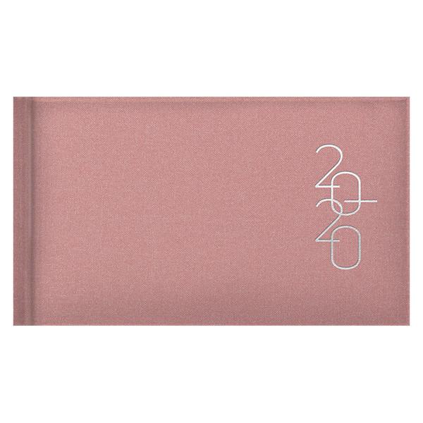 Еженедельник карманный датированный BRUNNEN 2020 Glam пудровый
