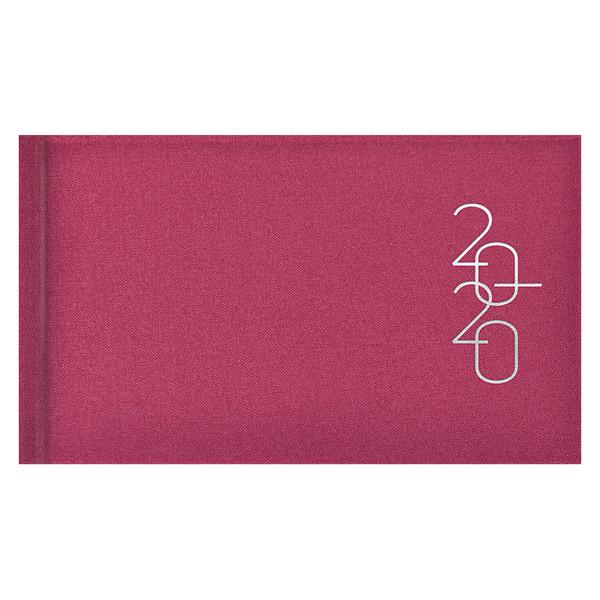 Еженедельник карманный датированный BRUNNEN 2020 Glam розовый