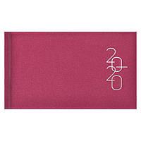 Еженедельник карманный датированный BRUNNEN 2020 Glam розовый, фото 1