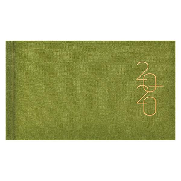 Еженедельник карманный датированный BRUNNEN 2020 Glam светло-зеленый