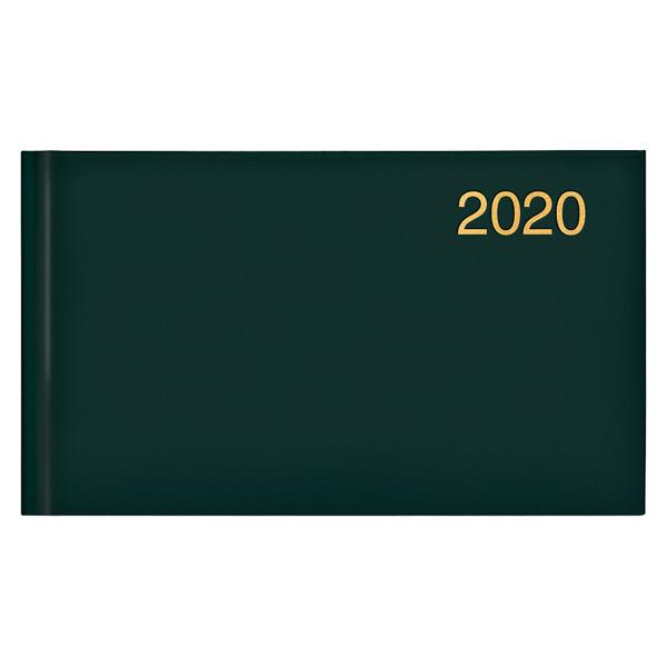 Еженедельник карманный датированный BRUNNEN 2020 Miradur Trend зеленый