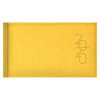 Еженедельник карманный датированный BRUNNEN 2020 Tweed желтый, фото 1