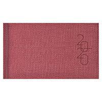 Еженедельник карманный датированный BRUNNEN 2020 Tweed красный, фото 1