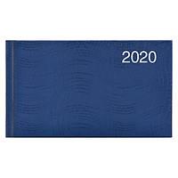 Еженедельник карманный датированный BRUNNEN 2020 Wave, синий, фото 1