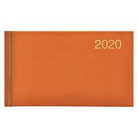 Еженедельник карманный датированный BRUNNEN 2020 Wave, оранжевый, фото 1