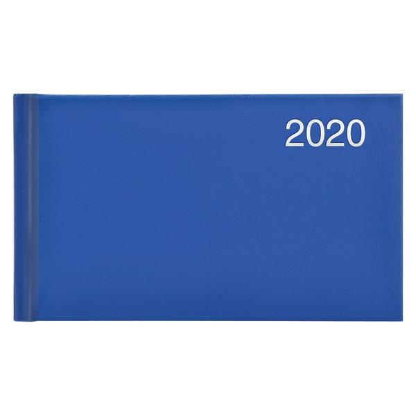 Еженедельник карманный датированный BRUNNEN 2020 Miradur, ярко-синий