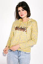 Толстовка женская AG-0009621 Желтый