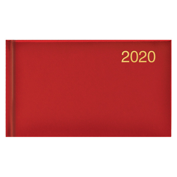 Еженедельник карманный датированный BRUNNEN 2020 Miradur, красный